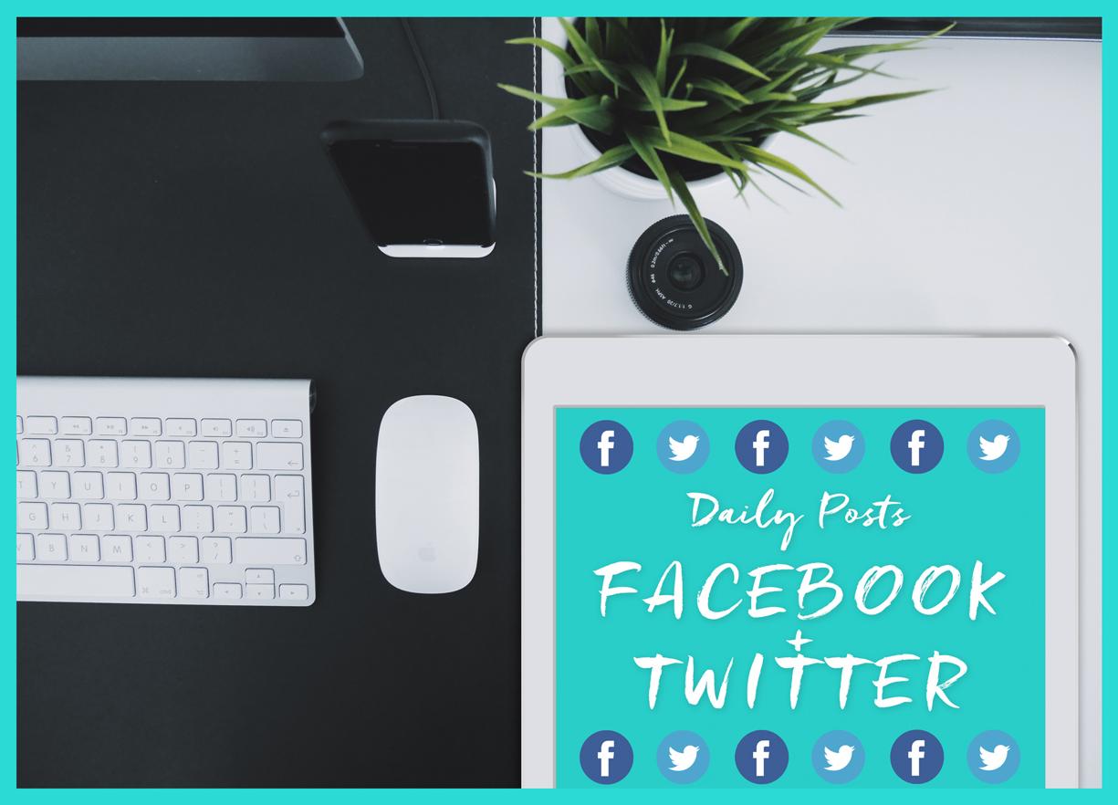 Facebook + Twitter Marketing Supercharge